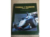 10x Formula 1 YearBooks Annuals. 1999-2008
