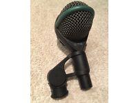 'AKG D 112' kick drum/bass microphone, inc. AKG clip. Excellent condition.