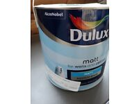 Dulux mixed MATT paint (Amazon Beat 5) Blue 2.5L