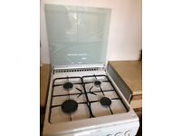 Freestanding gas cooker; used but everything works