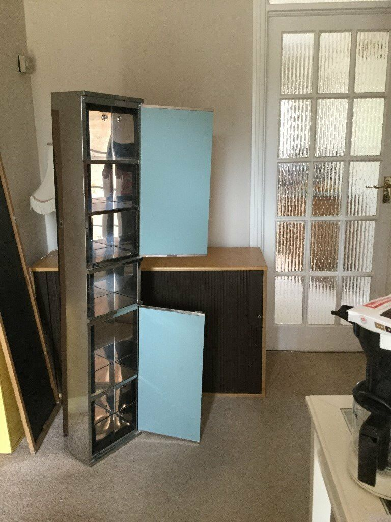 wall hung bathroom cabinet | in Purley, London | Gumtree