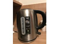 Russell Hobbs Buckingham Quiet Boil Kettle - Brushed Stainless Steel Silver