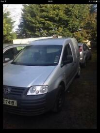2008 vw caddy parts breaking bcg silver