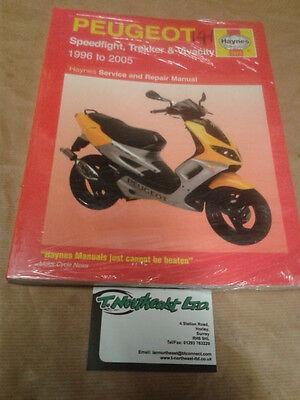 Haynes Manual 3920 For PEUGEOT Speedfight,Trekker & Vivacity 1996 to 2005