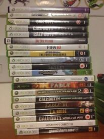All Of My Xbox 360 Games/Accessories and DVD's/Boxsets