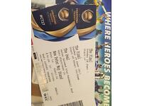 4 X Peter May stand India Pakistan final tickets 500£ each