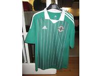 "Northern Ireland,Glentoran & ""Messi""Football Shirts"