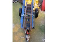 towing dolly £250 ono complete with winch and ramps good tred on tyers
