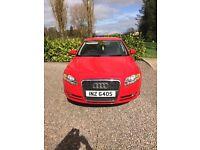 Audi A4 TDI SE Red