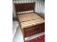 Very nice double bed frame