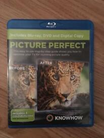 Blue ray picture quality dvd for sale new
