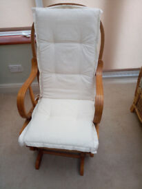Glider Rocking Chair, Used, Good Condition.