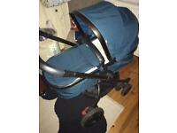 Mothercare Orb pram/pushchair in Teal. Great condition!