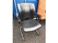 Leather office chair