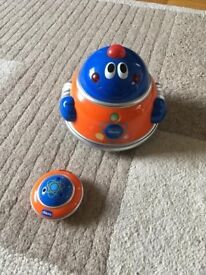 Chicco baby space remote control robot
