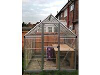 Greenhouse 6x4ft
