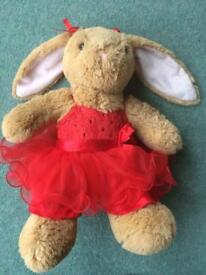 Build a Bear Rabbit and Clothes