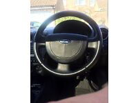 Ford Fiesta with with 8 months mot. Reliable car cheap to run and recently had 3 new tyres.