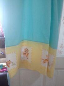 Lovely Disney tigger nursery curtains