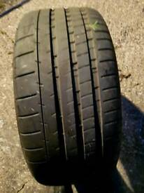 X1 265/35r20 michelin tyre