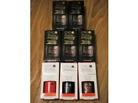 5 Bottles of CND Shellac XPress 5 Top Coat & 3 CND Shellac Colours (Unopened, Genuine CND Products)