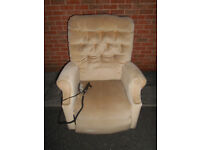 Riser recliner chair with massage function