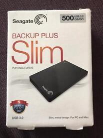 Sea gate 500gb external hard drive