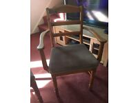 Ducal Dining Table & 4 Chairs & TV Unit in Victoria finish