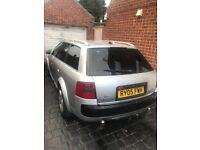 Audi allroad 2.5 tdi spares or repair