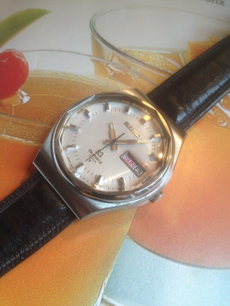 Seiko SQ 4004 Vintage Watch (great condition and working perfectly)