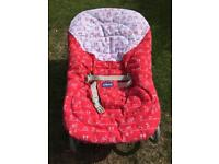 Chicco baby rocking chair.