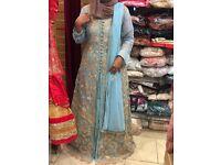 Aqua brides sisters outfits