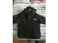 Black helly Hanson jacket