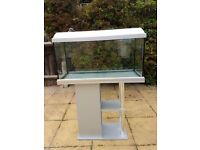 Fish tank and Stand included