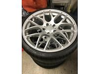 """19"""" BMW ALLOY WHEELS AND TYRES"""