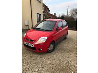 2010/59 Chevrolet matiz 1.0 5Door Red. Low mileage , full years MOT ,Brilliant condition