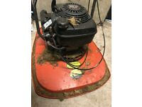 Large Flymo Lawnmower with 4 stroke petrol engine - recent service