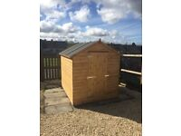 Garden sheds top quality sheds can deliver and erected