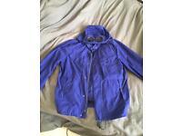 Blue , cp company jacket , men's medium