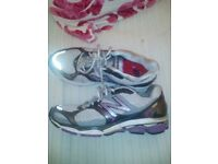 New balance trainers good condition from clean smoke free pet free home...