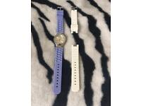 New Purple And White Watch