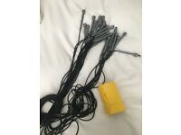 15 skipping ropes and roll of exercise band - ideal for somebody setting up as personal trainer