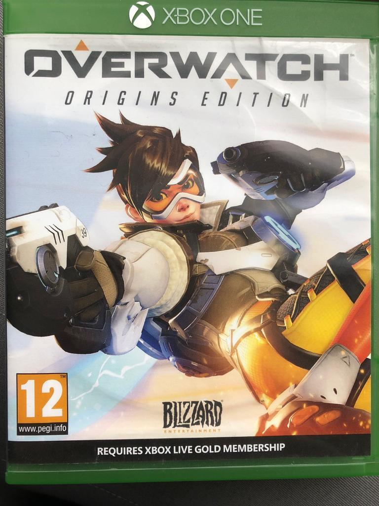 overwatch xbox one good condition in crawley west sussex