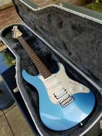 **Yamaha Pacifica 112 Strat style guitar with hard case**
