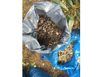 Garden or driveway stone chippings FREE - Cotham