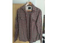 Abercrombie & Fitch Shirt Long Sleeves Checkered Small (S)