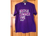 Wholesale Joblot of 50x Unisex Taylor Swift British Summer Time Hyde Park T-shirt 2015