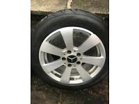16 INCH TWO SET OF MERC SE ALLOYS WHEELS AND TYRES
