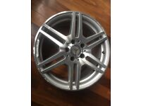 18 inch Alloy wheel from AMG Mercedes Benz E-Class 3 Available one front and 2 rears