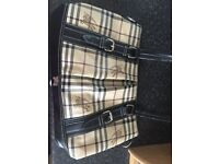 Burberry bag and wallet